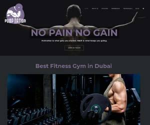 Website Dubai Gym